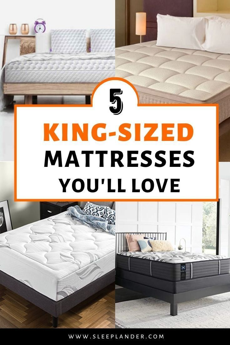 The 5 Best King Size Mattresses You Ll Love To Sleep In King Size Mattress King Size Matress Mattress