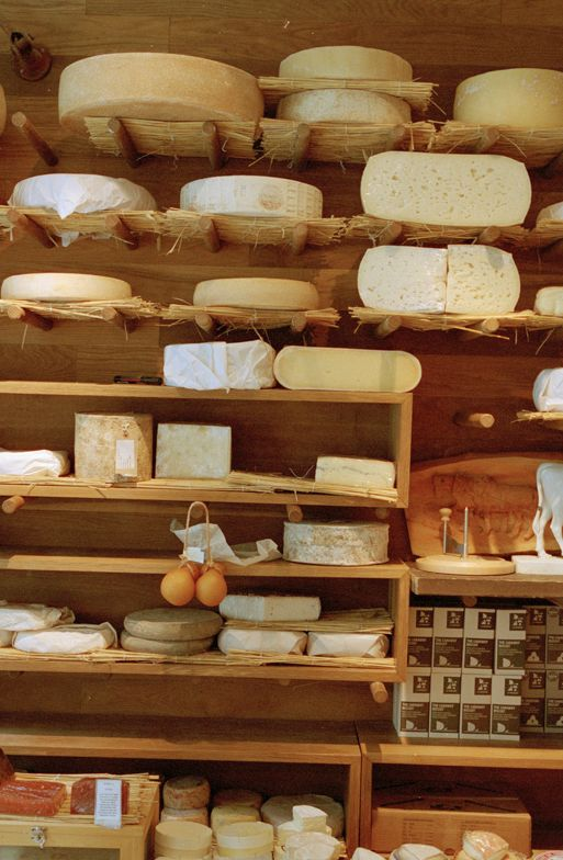 A #cheese shop is the best kind of shop. Find specialty stores in #London.