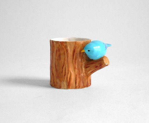 $24 bluebird coffee mug. La quierooooo ya.