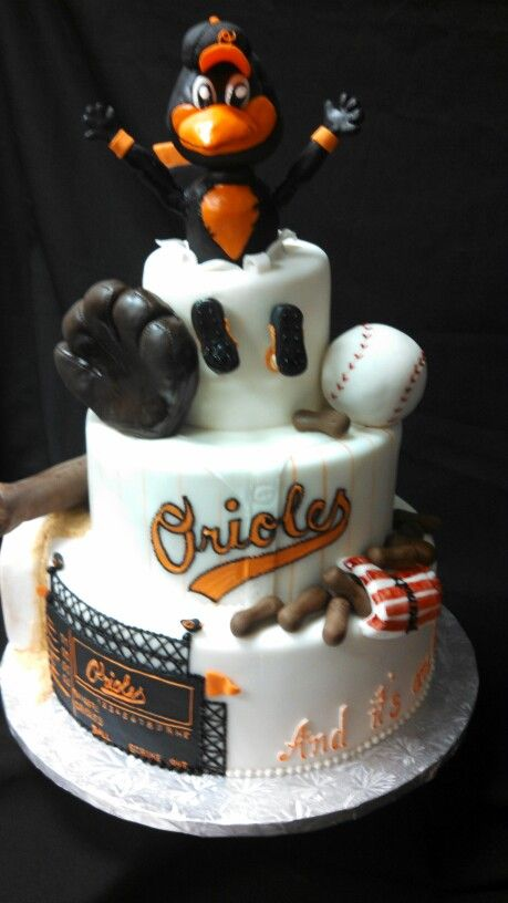 29 best Baltimore Orioles Cakes images on Pinterest Baltimore