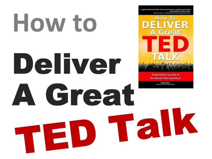 ted talk great presentations