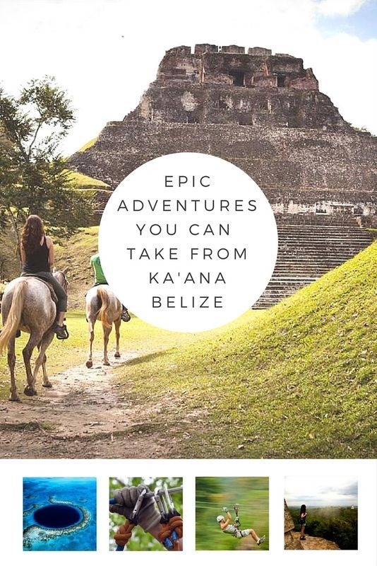 Belize is paradise for the adventure traveler. And some of the best adventures are easily organized from our favorite resort – Ka'ana Belize.