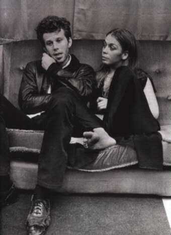 Tom Waits and Rickie Lee Jones