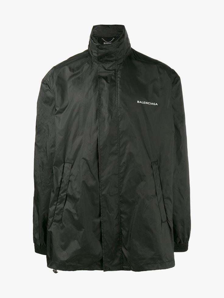 BALENCIAGA Logo Windbreaker Jacket.  balenciaga  cloth   0b4504504bb9