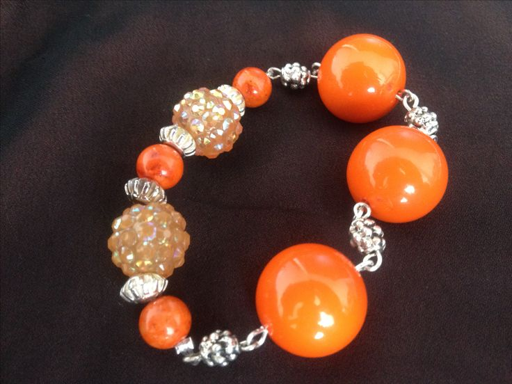 Beautiful orange Cuff.