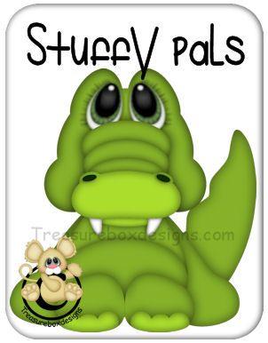 Stuffy Pal Alligator  - Treasure Box Designs Patterns & Cutting Files…