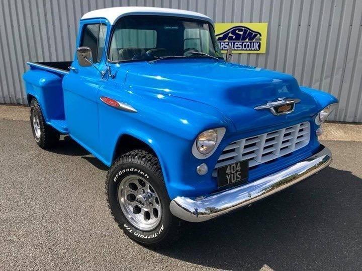 Ebay 1955 Chevrolet 3100 Side Step Pickup Bespoke Build Costing