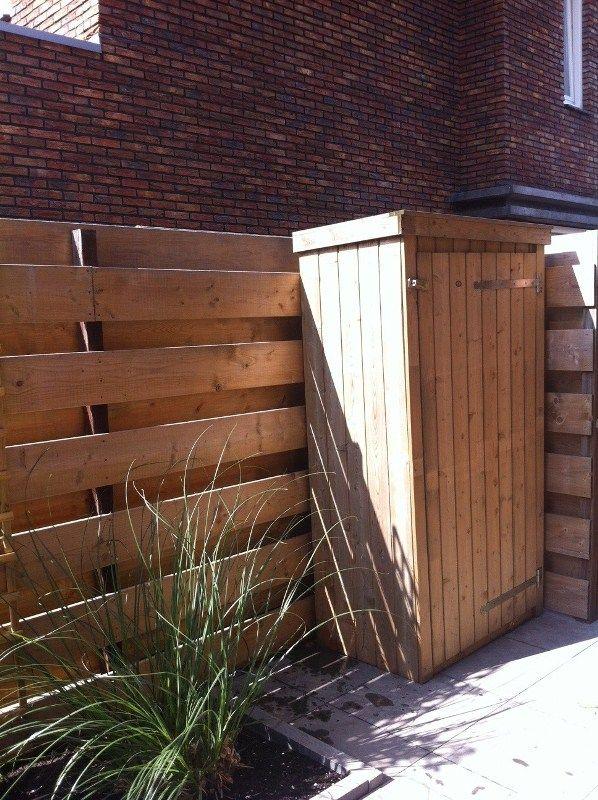 #Houten Tuinkast, ideaal voor gereedschap #blokhutvillage