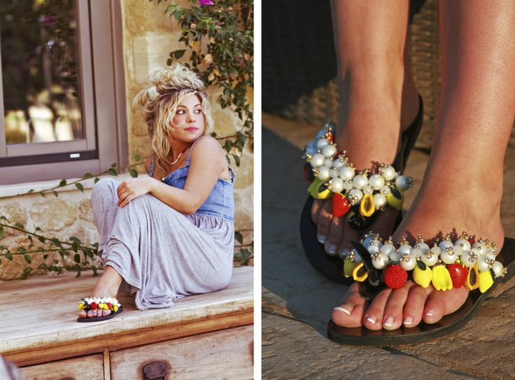 Temptation Flip-flop! Have you imagined that the fruits can be so attractive....? BonbonSandals