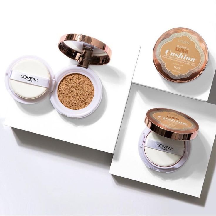 The new way to put on liquid foundation - L'Oreal Paris True match Lumi Cushion. The liquid foundation is infused into a innovative sponge to deliver a fresh and natural glow. Available in 12 shades and provides sheer to medium, buildable coverage.