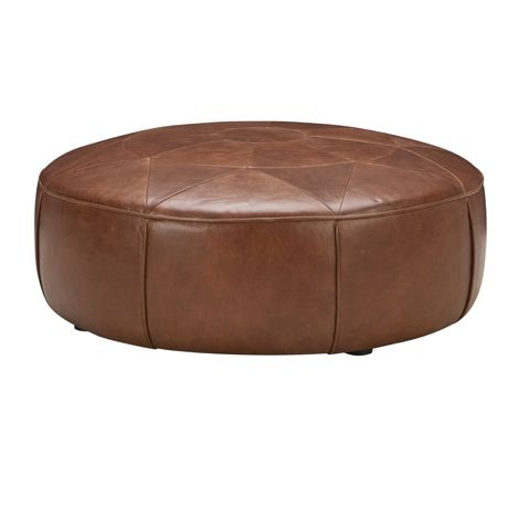 With this cool ottoman...