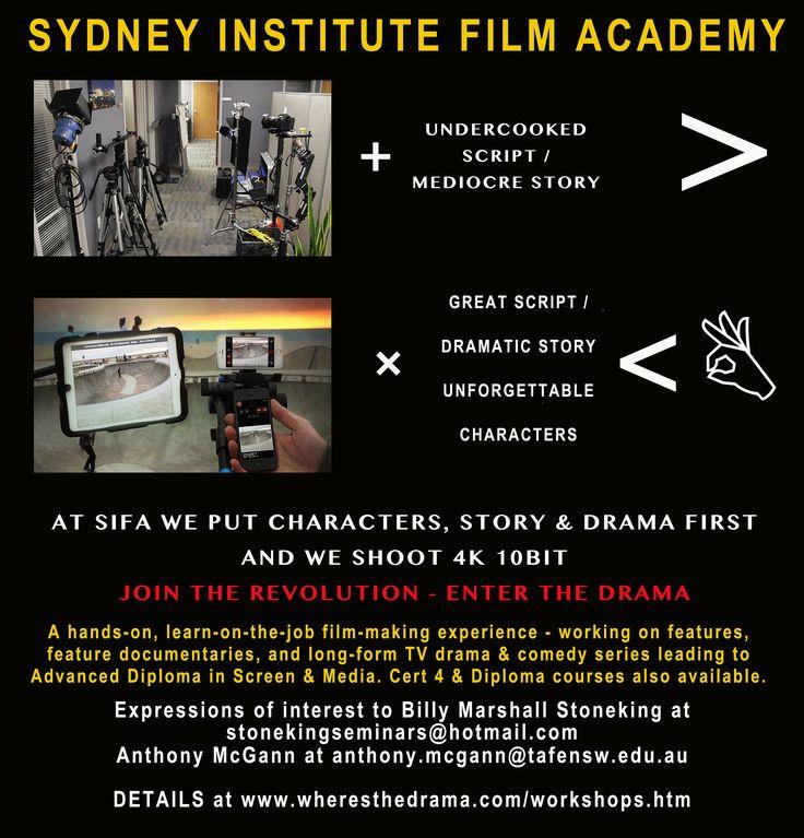 Revolutionary Sydney film school - SIFA