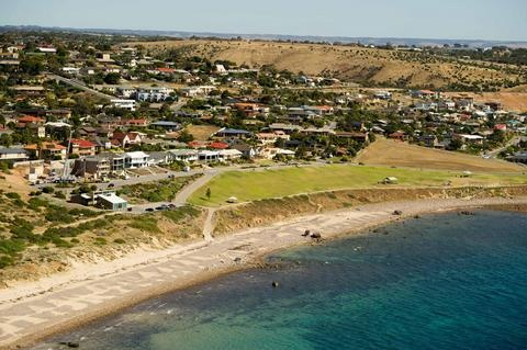 The Hallett Cove coastline, looking onto Heron Way Reserve and Hallett Cove Beach.  What can be do to revitalise Heron Way Reserve so that it becomes a strong community focal point for Hallett Cove?