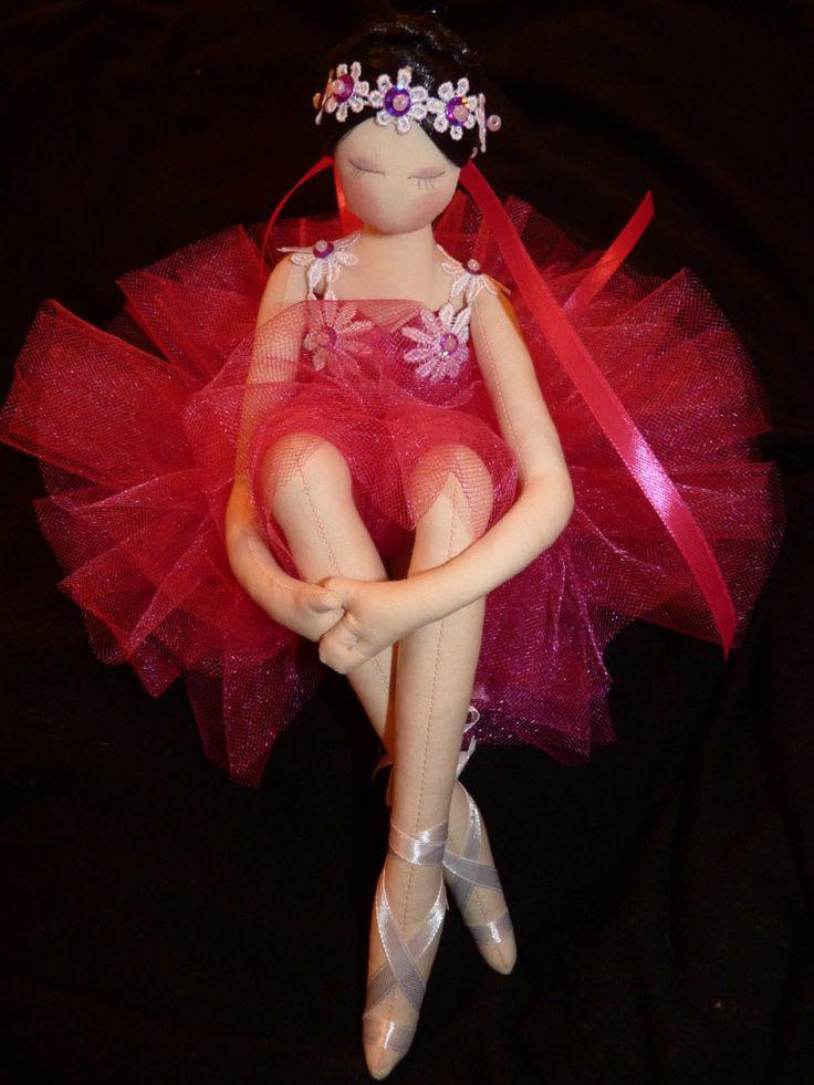 Muñeca bailarina increíble de arte hecho a por uniquehandmadedolls, $70,00