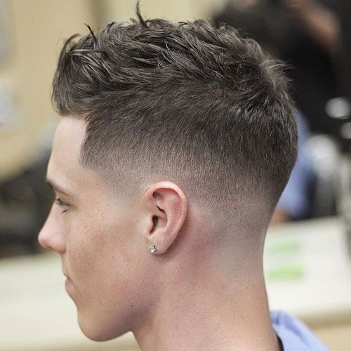 25 Best Men S Crew Cut Hairstyles 2019 Guide Short Haircuts For