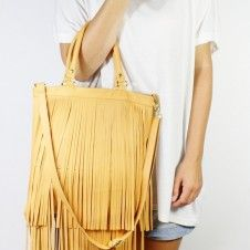 Pop Fringe Leather Bag Pop Fringe Leather Bag