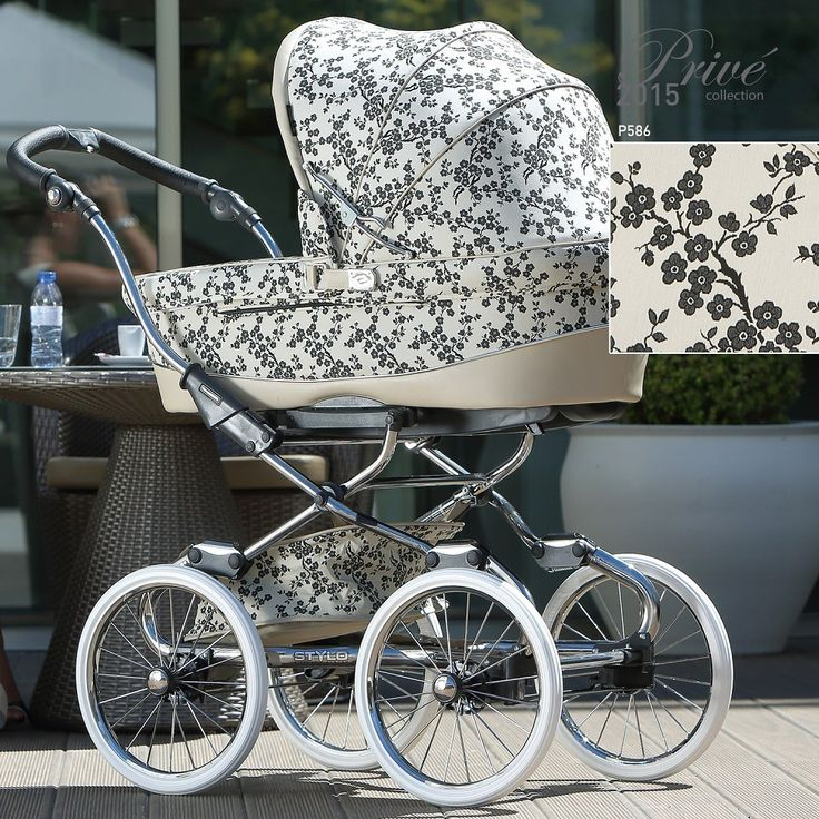 Kinderwagen Stylo Class Prive Collection 2015