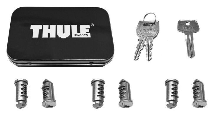 Thule 596 Lock Cylinders for Car Racks (6-Pack)