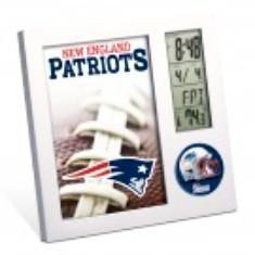 New England Patriots Deck Clock and Calendar