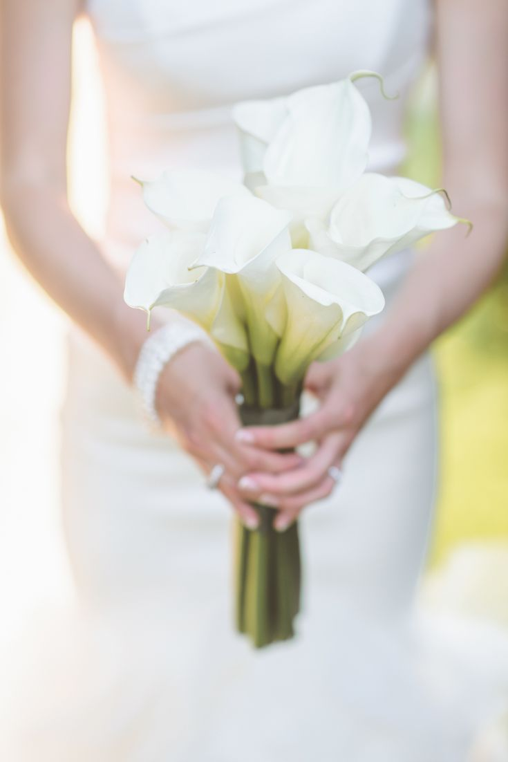 Simple Lily Bridal Bouquet : Best lily bouquet ideas on white