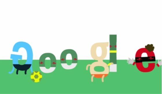 Google Doodle - México vs Holanda