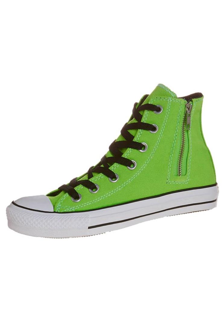Converse - ALL STAR - Korkeavartiset tennarit - vihreä
