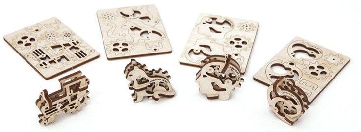 Ugears 3D mechanické puzzle Drobnůstky