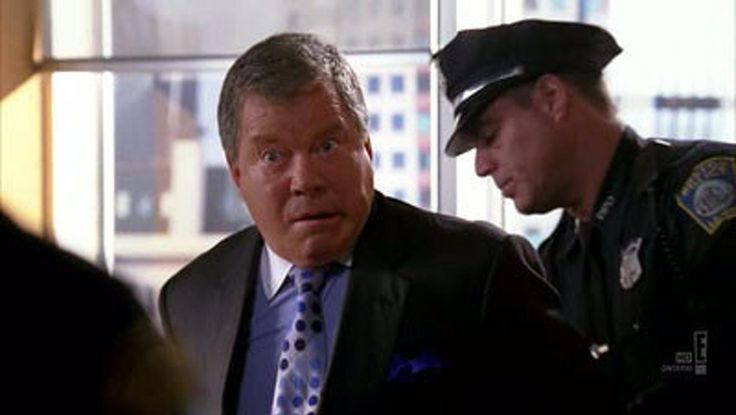As Denny Crane in Boston Legal: Dances with Wolves