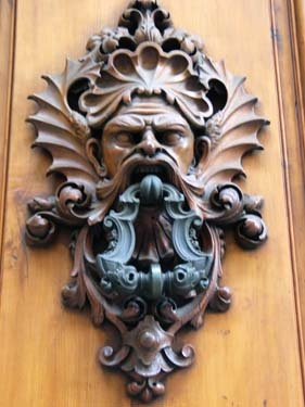 Why do so many door knockers have scary faces? & 210 best Doors of Italy images on Pinterest | French doors ...