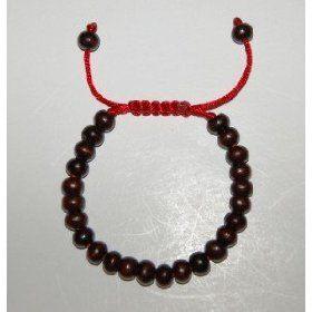 Tibetan Rosewood Wrist Mala/ Bracelet for Meditation, (tibetan buddhism, bracelets, buddhist, mala, mala beads, meditation aids, prayer beads, buddhism, meditation)
