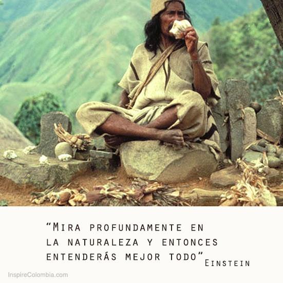 Este hombre es un Mamo, un lider espiritual de los Arhuacos de #Colombia. Foto: Survival International