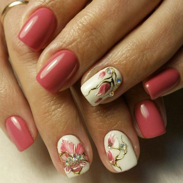 Spring Gel Nails Ideas Fresh And Lovely Colors For A Good Mood Spring Gel Nails Ideas Gel Nail Designs Glitter Gel Nails