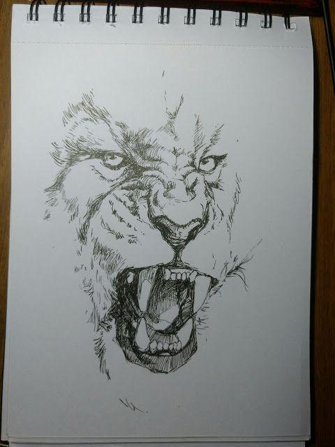 Sketch a day #15   2d illustration inktober sketch