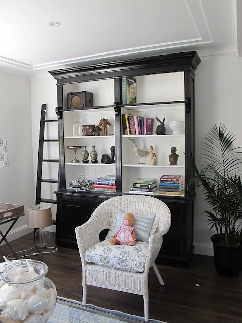 Black And White With Shelves