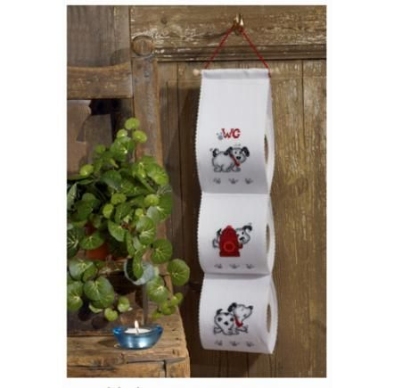 Hållare för toalettrullar