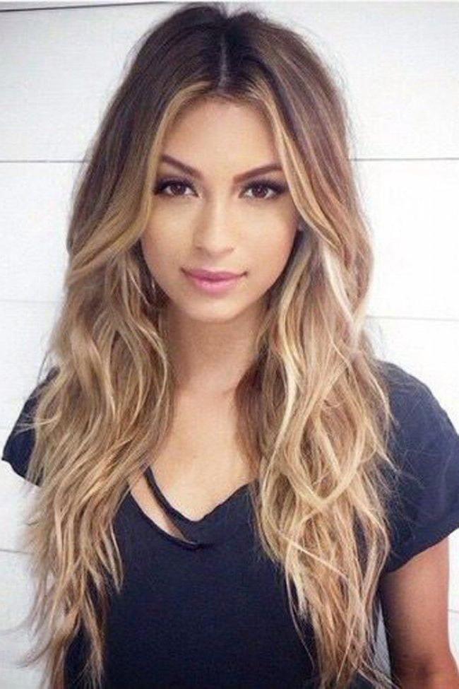 Frisuren modern lange haare