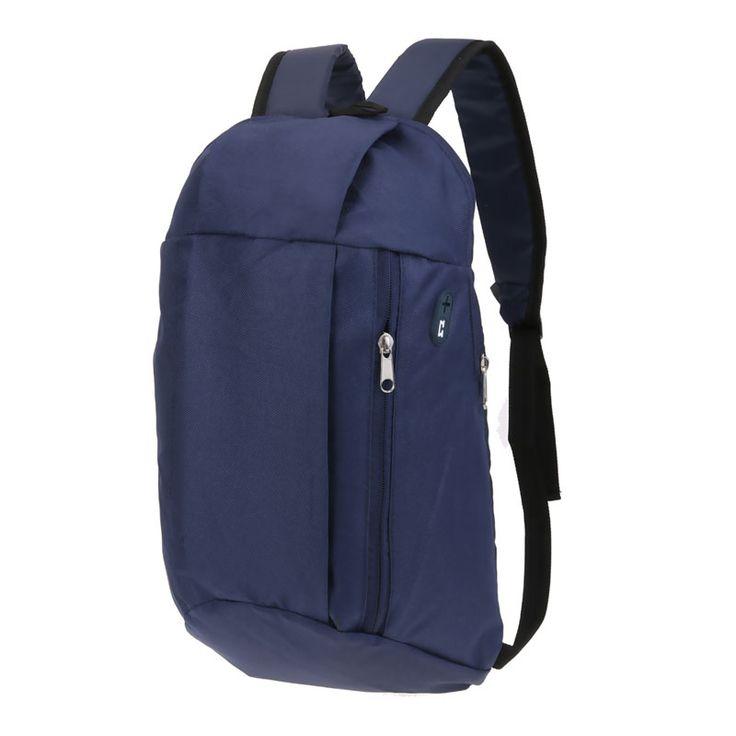 10L Unisex Casual Nylon Backpacks Small Portable Travel School Backpack Small Portable School Bag for Teenage Girls Rucksack