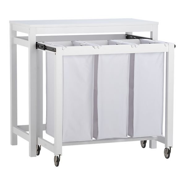 For Multifunctionality In Rooms The Laundry Station By Crate And Barrel
