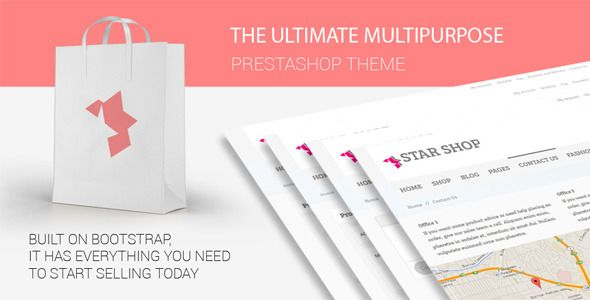 Star Shop - Prestashop Shopping Template