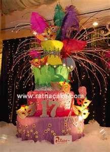 mascarade cake @Toni Castillo