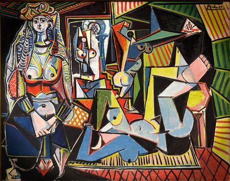 Pablo Picasso, Femmes d'Alger