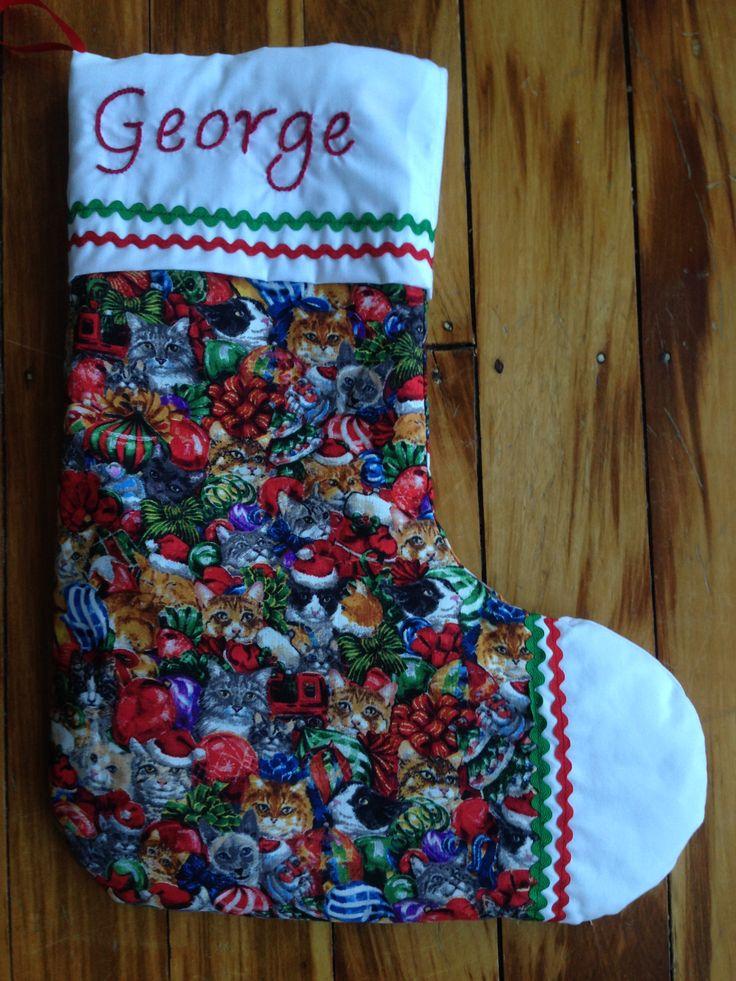 Xmas stocking for grandson