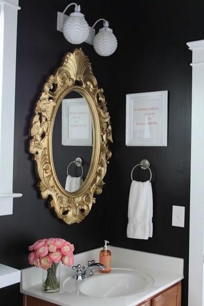 Small Bathrooms Dark Walls 50 best bathroom images on pinterest | bathroom ideas, master