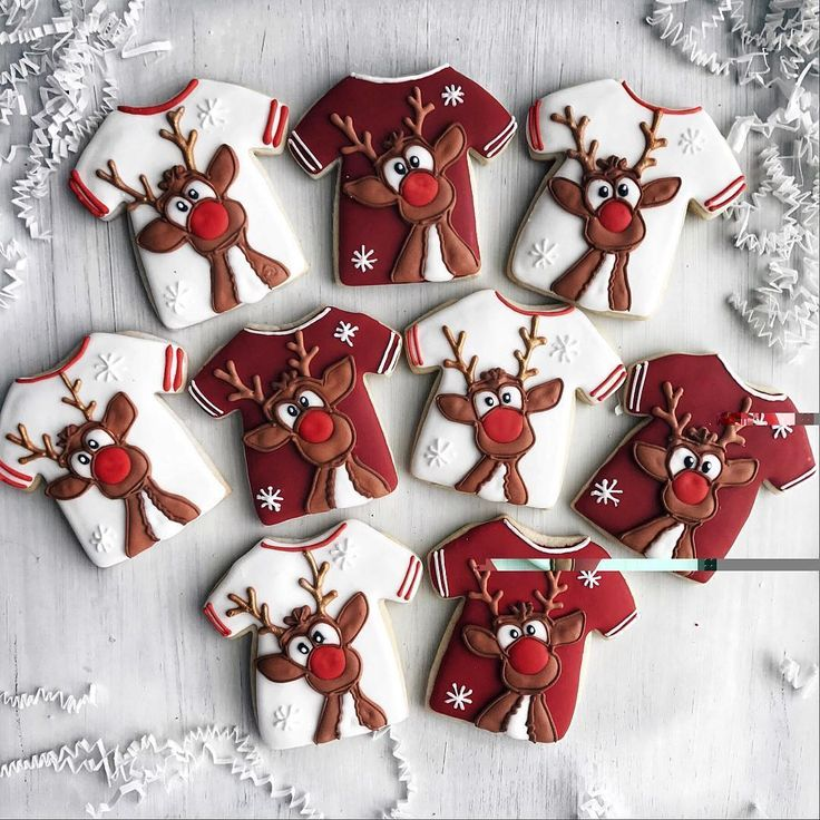 I really love this idea cookies for Christmas