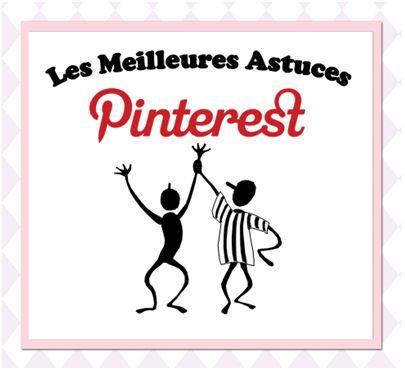 ➨ Quelques astuces pour améliorer nettement votre présence sur #Pinterest Un article à lire sur le blog Tomate Joyeuse http://tomatejoyeuse.blogspot.fr/2012/06/les-meilleures-astuces-pour-pinterest.html