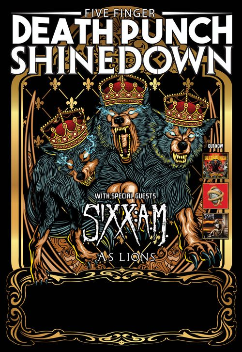 Win tickets to see Shinedown at KFC Yum Center in Louisville. (via 98.3 The Edge) WIN TICKETS!! to Five Finger Death Punch/Shinedown at Yum