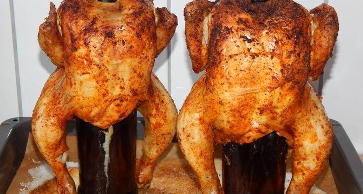 Sörösüvegen sült csirke recept: grillcsirkét. Egyrészt max 5 perc munkával jár elkészíteni, másrészt ugyanolyan finom, sőt finomabb mintha megvennénk a kész grillcsirkét, de ugye így olcsóbb és azt is tudjuk mit eszünk, hisz mi fűszerezzük. Fűszerezés, mindenki, ahogy szereti, bármilyen fűszerekkel, bátran keverjük őket. Ez itt most egy alap, de nálunk ő a kedvenc a gyerekeimnél. A fűszerekhez én nem keverek olajat, van, aki igen, ezt is mindenkire rábízom így is és úgy is finom lesz, és nem…