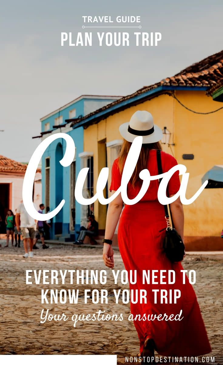 Planning a trip to Cuba? This involves a bit more preparation than usual. Find all your questions answered in this comprehensive Cuba guide. - Non Stop Destination