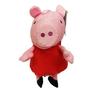 Peppa Pig Plush Toys Unique design by PlushDirect based on the Nickelodeon show, Peppa Pig
