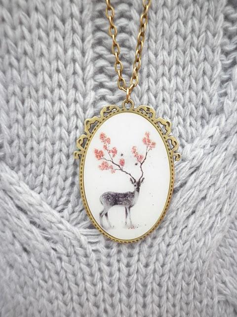 Floral deer antlers <3